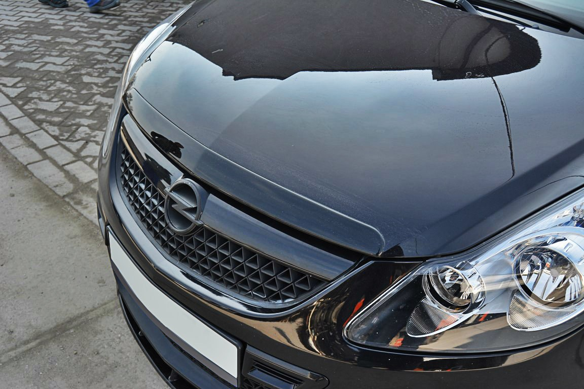 Dokładka Maski Opel Corsa D OPC / VXR - GRUBYGARAGE - Sklep Tuningowy